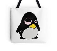 LAZY LINUX TUX PENGUIN Tote Bag