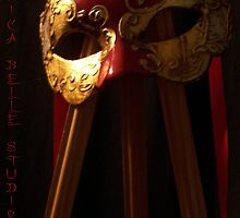 Phantom of the Easel by JenicaBelle