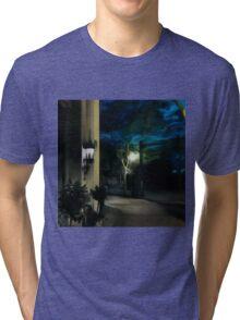Sidewalk in Village Tri-blend T-Shirt
