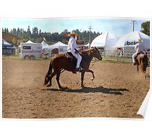 Spanish Horses Poster