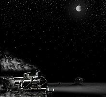 NIGHT TRAIN by Larry Butterworth