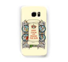 Keep Calm and Praise the Sun Samsung Galaxy Case/Skin