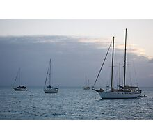 boats on Anchor 2 Photographic Print