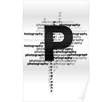 Photography text_07 Poster