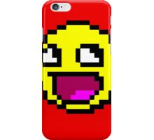 Awesome MEME face  - 8bit iPhone Case/Skin