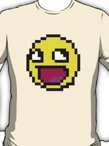Awesome MEME face  - 8 bit T-Shirt
