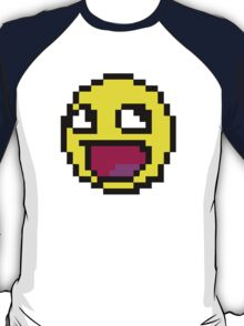 Awesome MEME face  - 8bit T-Shirt