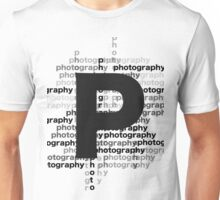 Photography text_07 Unisex T-Shirt