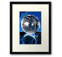 Crystallysis Framed Print