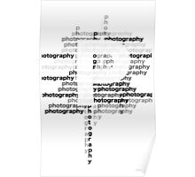 Photography text_06 Poster