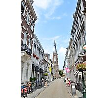 Street Fashion Maastricht NETHERLANDS Photographic Print