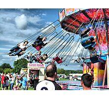 Fun at Hawkesbury Upton Fair.  Photographic Print