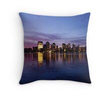 Manhattan Dawn Throw Pillow