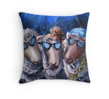 Baaad Boys Throw Pillow