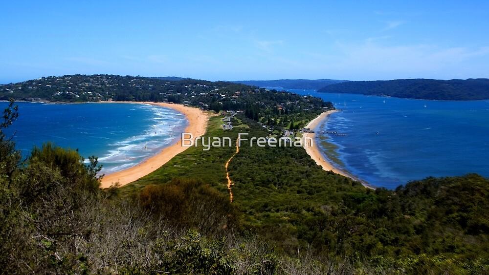 Tombolo - Palm Beach - Sydney - Australia by Bryan Freeman