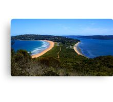 Tombolo - Palm Beach - Sydney - Australia Canvas Print