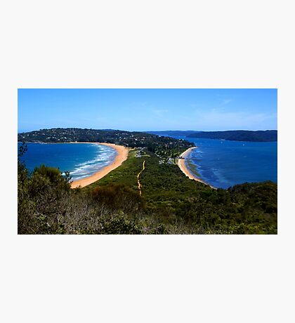 Tombolo - Palm Beach - Sydney - Australia Photographic Print
