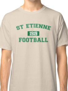 St Etienne Football Athletic College Style 1 Gray Classic T-Shirt