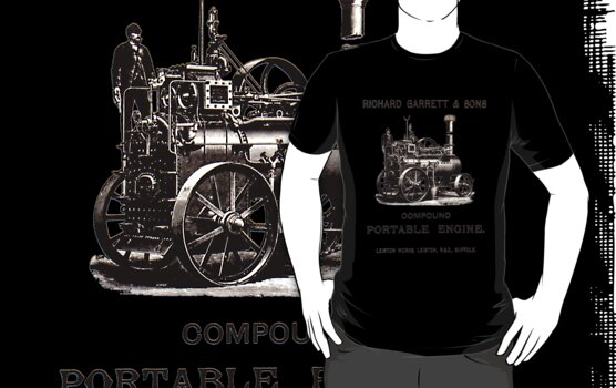 Richard Garett Compound Portable Engine by Stephen Peters