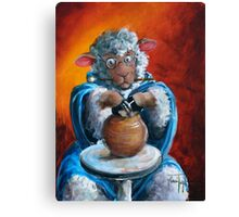 Hairy Potter Canvas Print