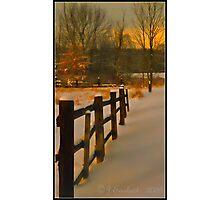 Tangerine Sky Photographic Print