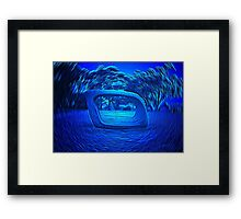 Come In Spinner - Sculpture, Sydney Harbour Framed Print