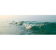 Glassy Wave Photographic Print