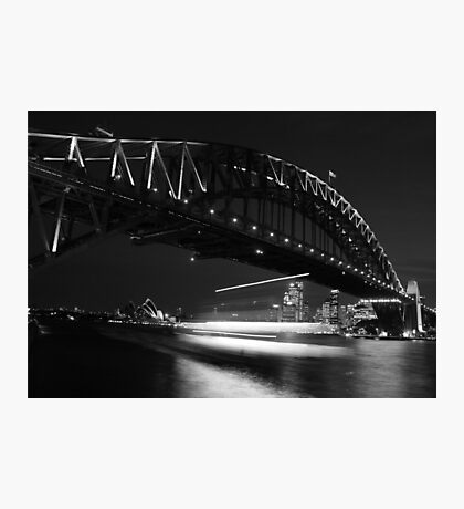 Ghost Ship - Sydney - Australia Photographic Print