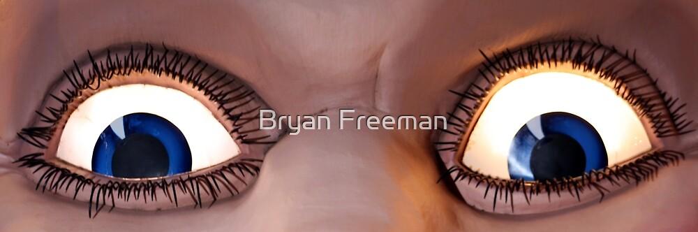 Ol' Blue Eyes Is Back! Luna Park - Sydney by Bryan Freeman