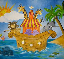 Noah's Ark by CrystalWegner