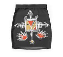 crow totem Mini Skirt