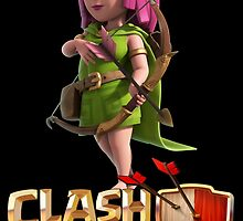 Archer Clash of Clans by renegade1984