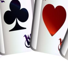 Aces with design Sticker