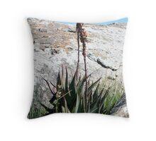 Aloes Throw Pillow
