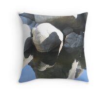 Rock Pool Throw Pillow