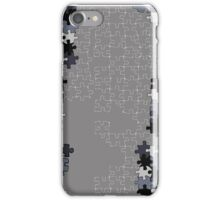 Jigsaw puzzle pieces iPhone Case/Skin