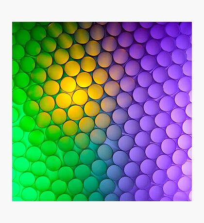 Straws of the Rainbow  Photographic Print
