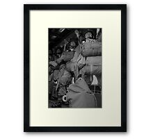 STAND UP ! HOOK UP ! Framed Print