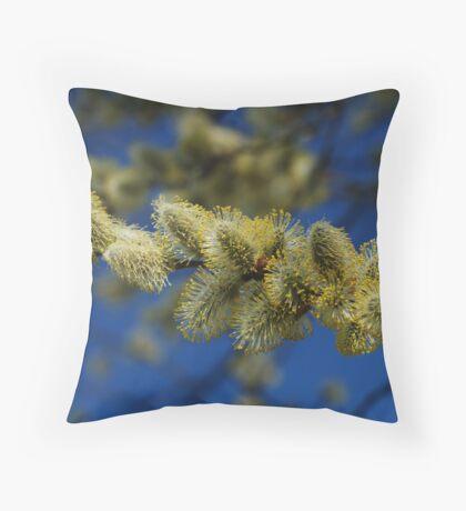 Tree buds  Throw Pillow