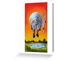 Drip Dry Greeting Card