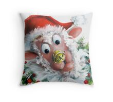 Jingle Nose Throw Pillow