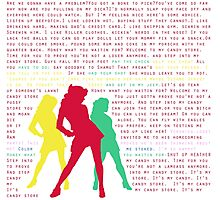 Candy Store-Heathers: The Musical Photographic Print