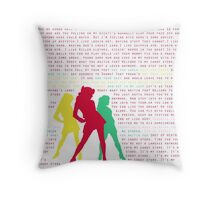 Candy Store-Heathers: The Musical Throw Pillow