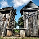Outhouse dunnies by David Anderson