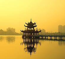 Lotus Lake by Nick Carter