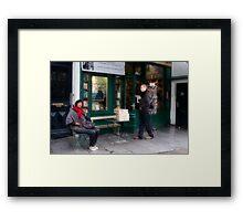 Shakespeare & Company Framed Print