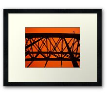 Top of The Morning To Yer - Sydney - Australia. Framed Print