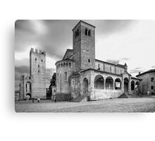 The Old Church Canvas Print