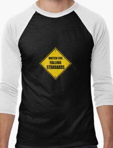 Falling Standards Men's Baseball ¾ T-Shirt