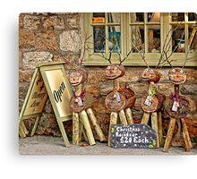 Reindeer For Sale Canvas Print